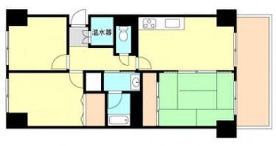 マンション(建物一部)-神戸市長田区東丸山町 広く住みやすい3DK