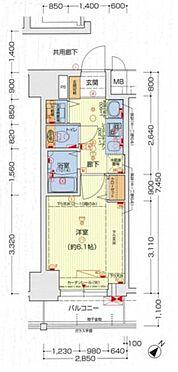 マンション(建物一部)-神戸市中央区国香通2丁目 間取り