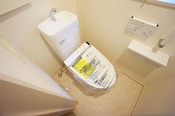 新築一戸建て-仙台市若林区若林5丁目 トイレ