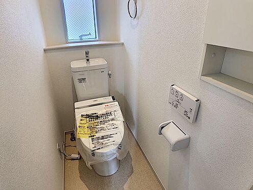 新築一戸建て-名古屋市南区戸部町3丁目 2階トイレ 1、2階ともシャワートイレです