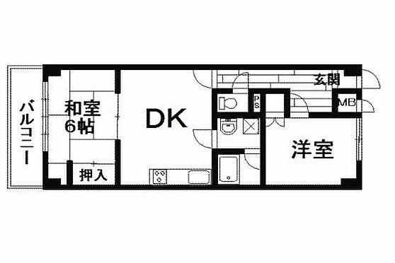 マンション(建物一部)-熱海市下多賀 間取り