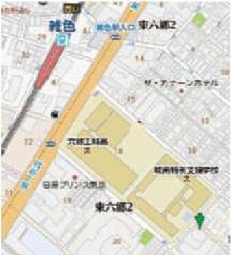 店舗(建物一部)-大田区南六郷3丁目 地図