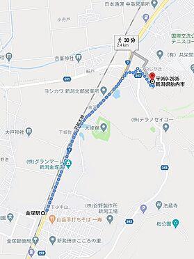 アパート-胎内市つつじが丘 地図