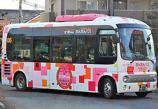 戸建賃貸-みよし市三好町東山 さんさんバス「三好池東」停 214m 徒歩約3分