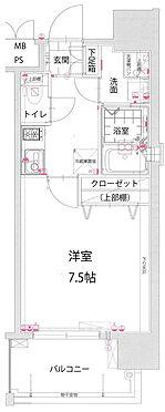 マンション(建物一部)-福岡市東区箱崎2丁目 間取り