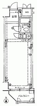 マンション(建物一部)-和歌山市九番丁 間取り