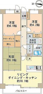 中古マンション-八王子市越野 3LDK・66.99m2