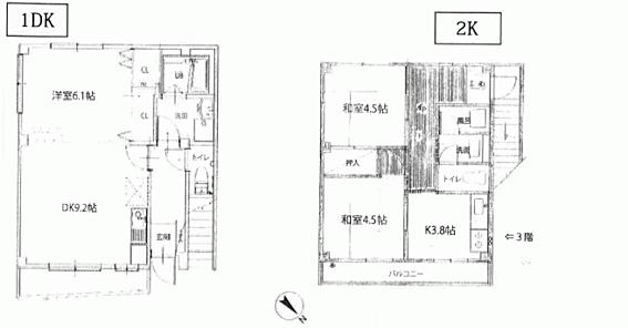 マンション(建物全部)-北区赤羽西3丁目 間取り