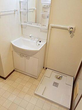 建物全部その他-京都市伏見区石田内里町 洗面、脱衣所、洗濯機置場です。