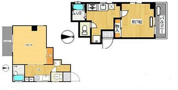 マンション(建物全部)-足立区加平1丁目 間取り
