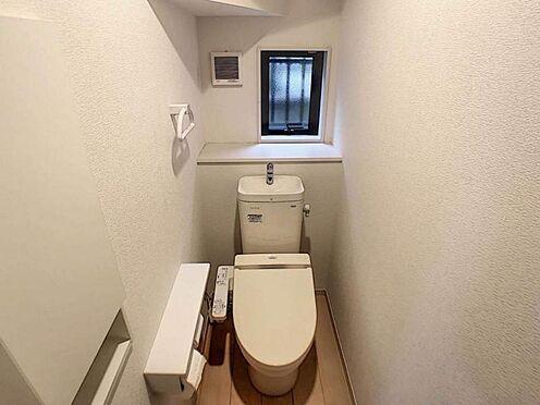 中古一戸建て-豊田市平山町5丁目 1階・2階それぞれにトイレがあります。夜中に階段の上り下りをしなくても良いのはうれしいですね。