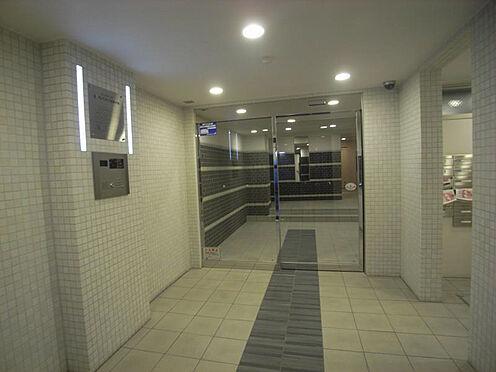 マンション(建物一部)-京都市左京区山端川端町 清潔感のあるエントランス