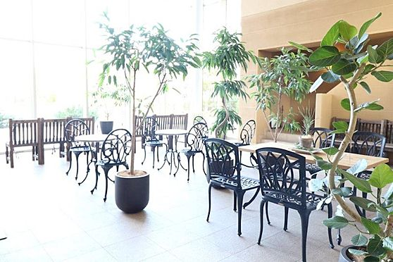 中古マンション-八王子市下柚木3丁目 共用部ロビー。大規模修繕でリニューアル