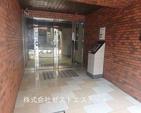マンション(建物一部)-大阪市中央区常盤町1丁目 防犯性を高めるオートロック完備