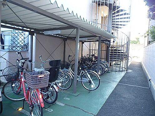 マンション(建物一部)-京都市右京区西院久保田町 雨を凌ぐ屋根付き駐輪場