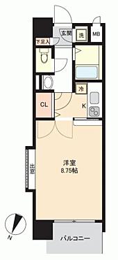マンション(建物一部)-福岡市博多区大博町 間取り