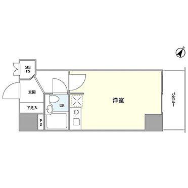マンション(建物一部)-川崎市川崎区貝塚1丁目 間取り