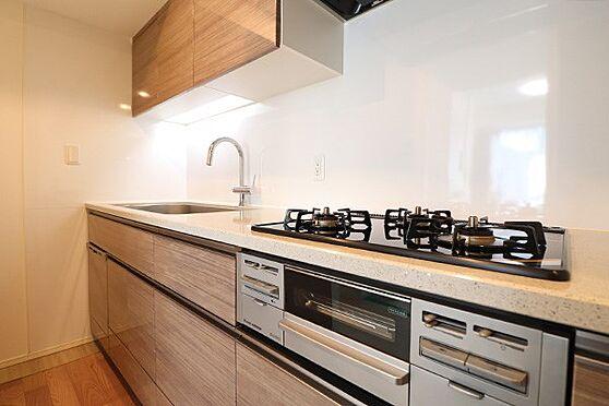 中古マンション-中央区築地7丁目 約3.8帖の独立型キッチン