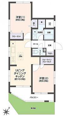中古マンション-横須賀市浦賀6丁目 間取り
