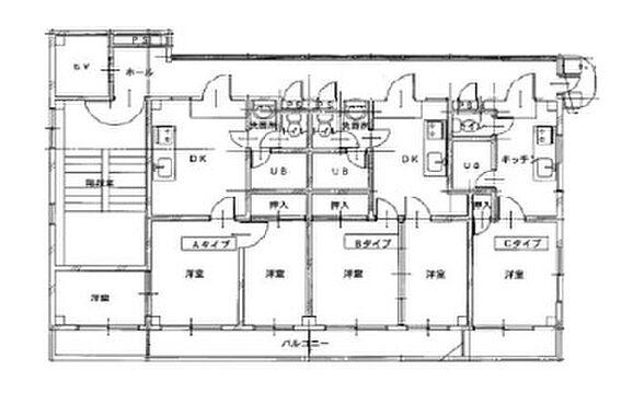 マンション(建物全部)-本庄市銀座 間取り