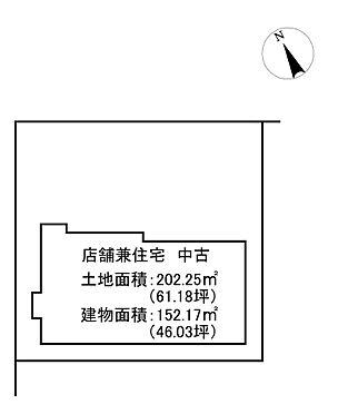 住宅付店舗(建物全部)-石巻市丸井戸3丁目 間取り