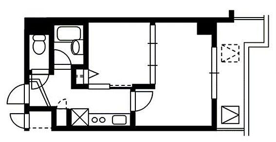 マンション(建物一部)-京都市北区衣笠東開キ町 使い勝手の良い2点セパレート