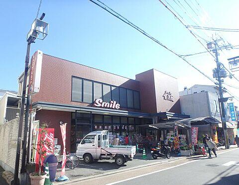 アパート-京都市伏見区深草大亀谷西寺町 スマイル食品館 約880m(徒歩約11分)