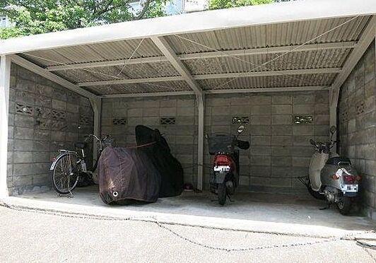 マンション(建物一部)-神戸市須磨区白川台2丁目 安心の屋根付き駐輪場
