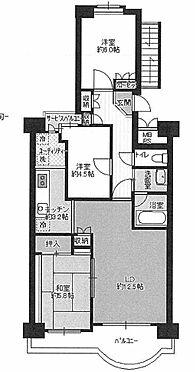中古マンション-横浜市鶴見区朝日町2丁目 間取り