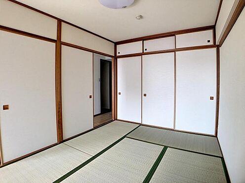 中古マンション-名古屋市名東区神丘町2丁目 安らぎをもたらす和室です。