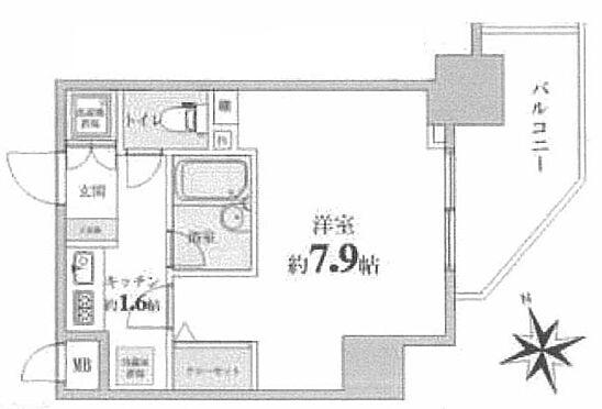 中古マンション-新宿区西早稲田1丁目 間取り