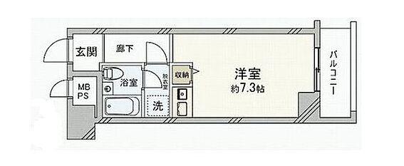 マンション(建物一部)-大阪市中央区谷町5丁目 使い勝手の良い1R