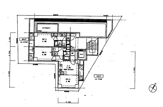 マンション(建物全部)-中野区野方5丁目 5階部分間取り
