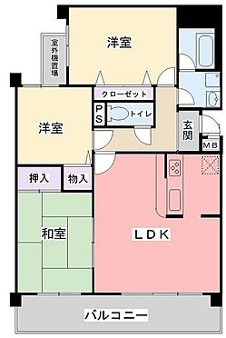 マンション(建物一部)-神戸市北区松が枝町3丁目 全居室に収納スペースと開口を設けたプラン