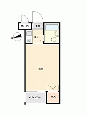 中古マンション-世田谷区若林2丁目 間取り