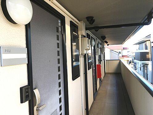 アパート-仙台市泉区永和台 2階共用廊下