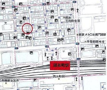 店舗・事務所・その他-墨田区錦糸2丁目 地図