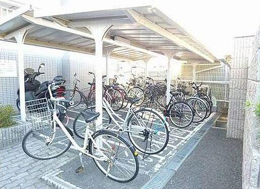 マンション(建物一部)-大阪市城東区天王田 屋根付きの駐輪場あり