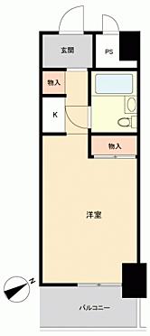 区分マンション-横浜市神奈川区神奈川2丁目 間取り