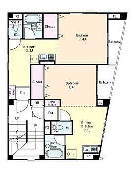 マンション(建物全部)-練馬区関町東1丁目 2階