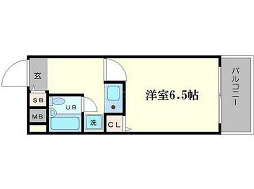 マンション(建物一部)-大阪市浪速区元町1丁目 水まわりと居室をわけた暮らしやすい1K