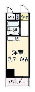 中古マンション-大阪市西区阿波座2丁目 間取り