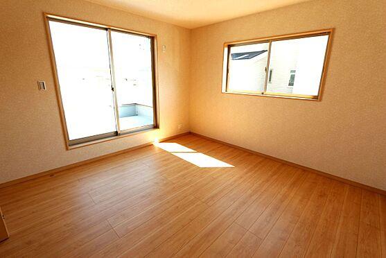 新築一戸建て-大和高田市大字有井 2階洋室は全てフローリング貼でお掃除楽々!清潔に保てます。(同仕様)