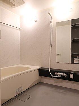 中古マンション-横浜市瀬谷区五貫目町 1620サイズのゆったりとした浴室。浴室換気乾燥機、お湯張り・追焚き機能付きです