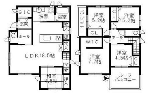 新築一戸建て-神戸市北区広陵町3丁目 間取り