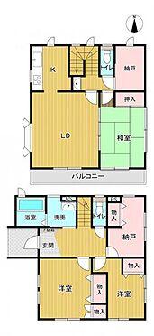 戸建賃貸-名古屋市千種区宮根台1丁目 収納豊富な4SLDK!
