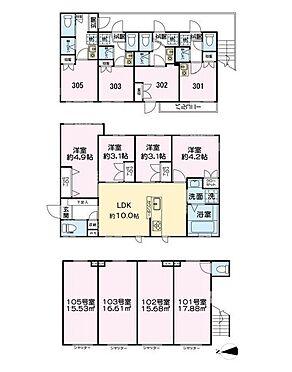 マンション(建物全部)-新宿区高田馬場2丁目 間取り