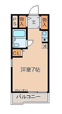 マンション(建物一部)-足立区島根3丁目 間取り図です。