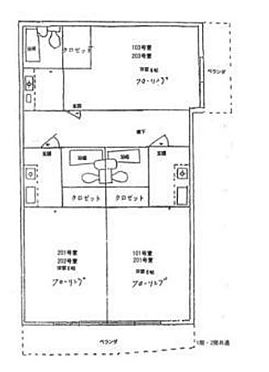アパート-横浜市南区清水ケ丘 間取り