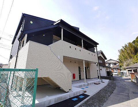 アパート-北九州市八幡西区上上津役2丁目 1LDK×6戸、築浅アパートです。駐車場スペース6台分あります。
